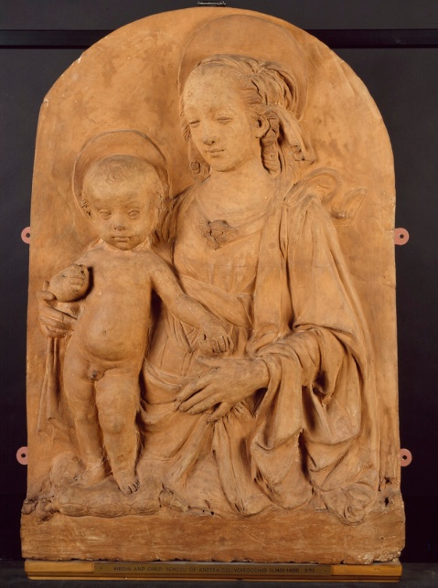 Madonna and Child by Andrea Verrocchio