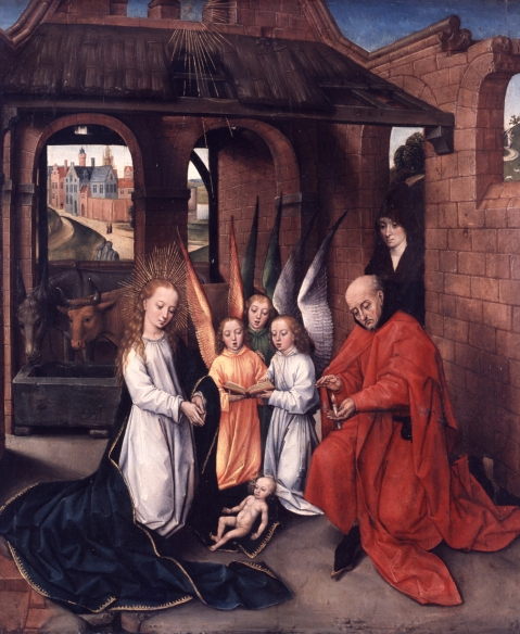 The Nativity by Master of the Prado Adoration