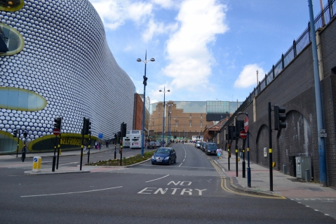 Junction of Park Street and Moor Street today