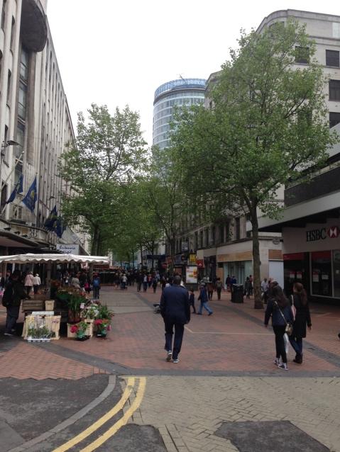 New Street today