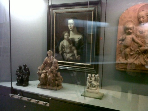 Display case in Gallery 27