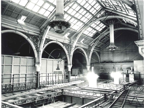 Above the Industrial Gallery after WWII