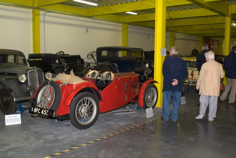 Vintage cars at the MCC
