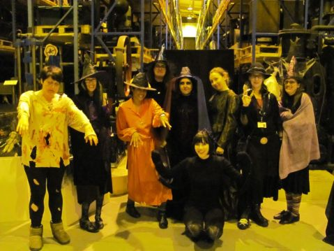 Staff at the MCC Halloween Evening.