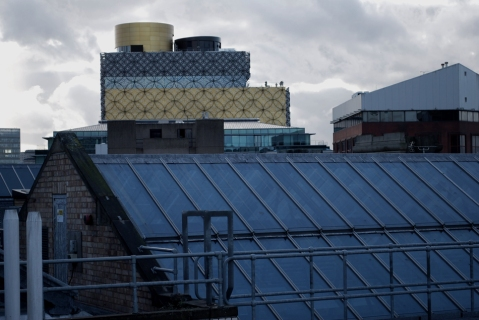 View of new Library of Birmingham