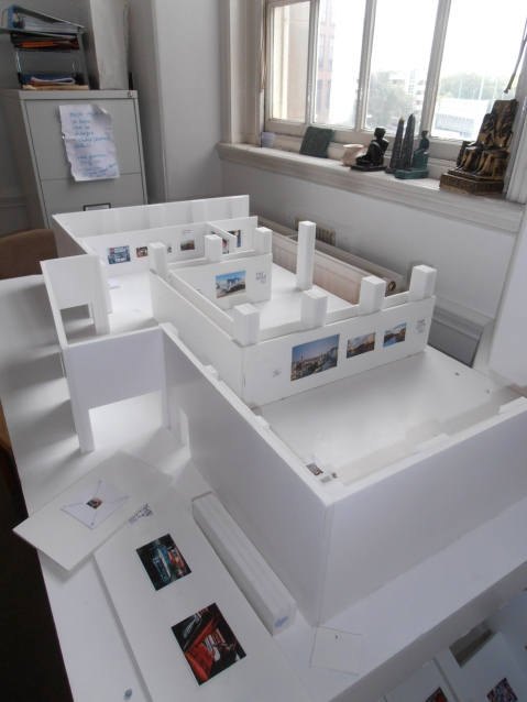 Model of the Gas Hall