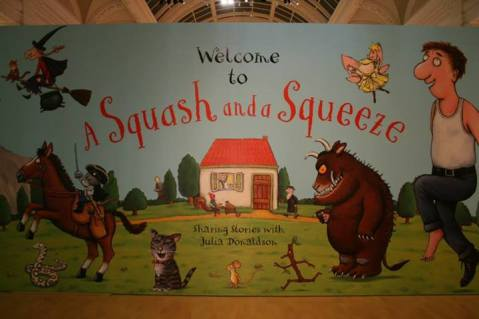 A Squash and a Squeeze exhibition