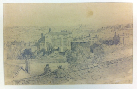 View from No 3 Temple Row West by Samuel Lines