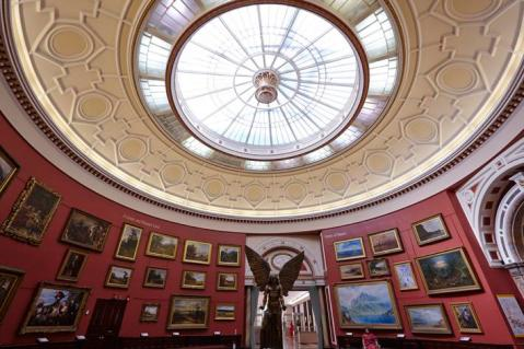 Round Room at Birmingham Museum and Art Gallery