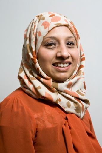Shahin Ashraf,  fundraiser for Islamic Relief.