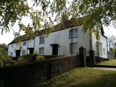 Romeland Cottage, St Albans: Hughes's home 1913-14