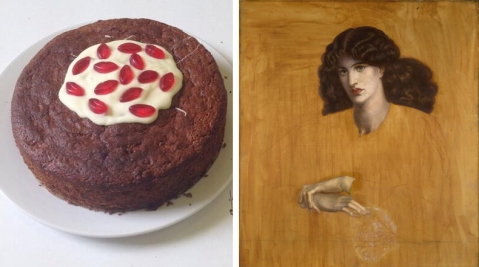 Rossetti's La Donna della Finestra 'deconstructed'