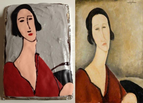 The winning cake - Madame Z by Amedeo Modigliani.