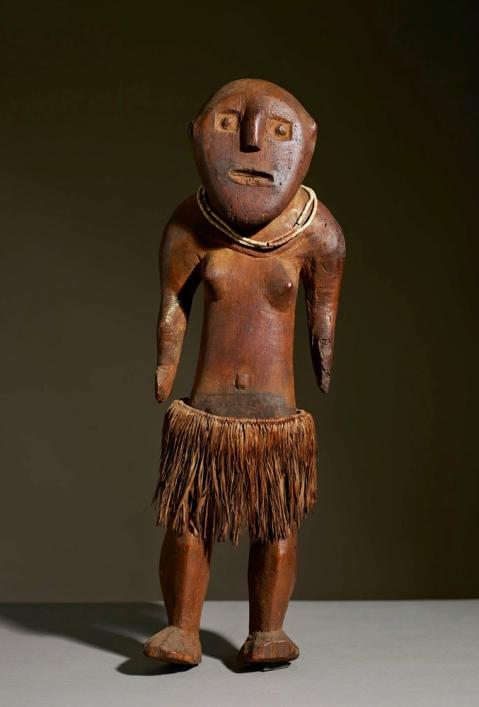 Fijian Ancestor Figure