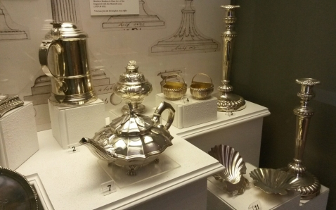 The Matthew Boulton silver collection at Soho House