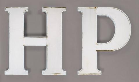 HP Sauce Sign