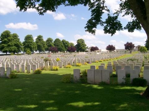 Serre Road cemetery