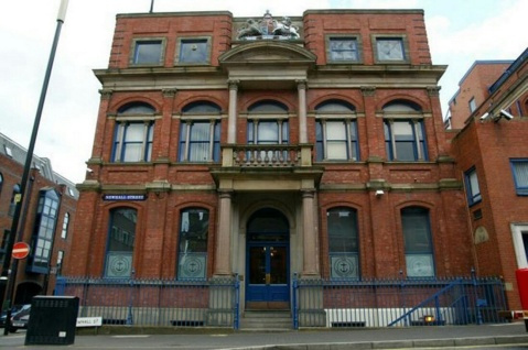 Birmingham Assay Office on Newhall Street