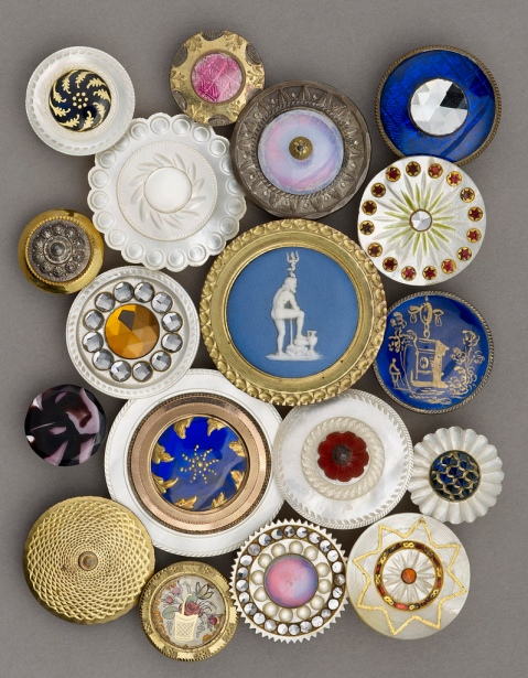 Some beautiful Birmingham buttons
