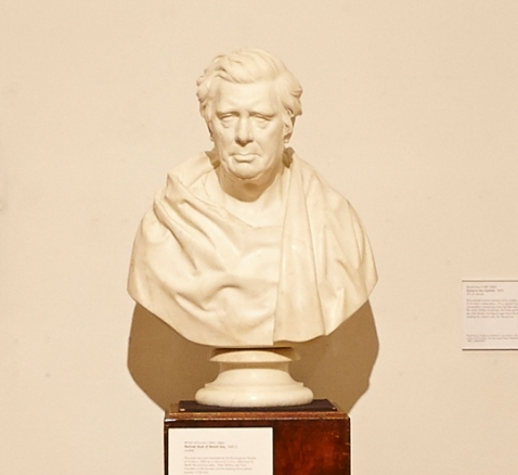 The Bust of David Cox