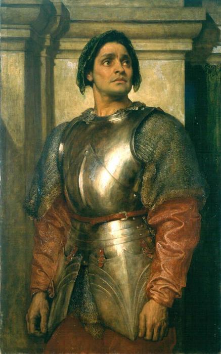 'A Condottiere' by Frederick Leighton still hangs in the Round Room