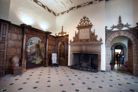 Interior of Aston Hall