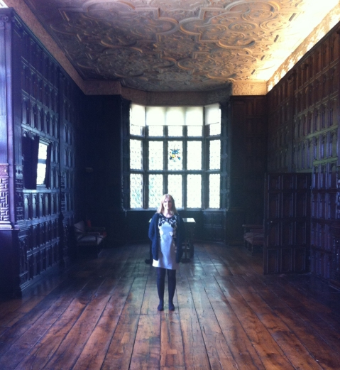 Connie, a volunteer at Aston Hall