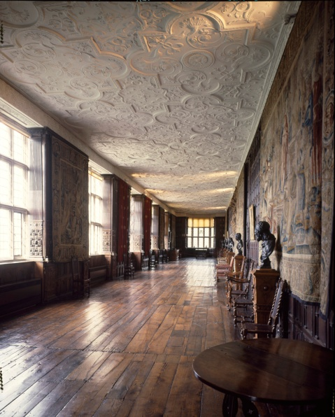 The Long Gallery  at Aston Hall