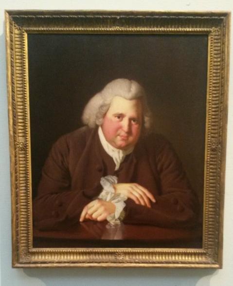 Erasmus Darwin's portrait
