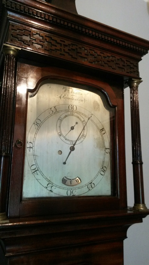 Grandfather clock at Soho House