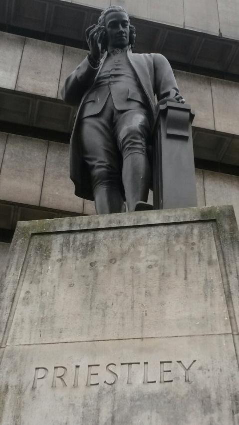 Statues of Joseph Priestley
