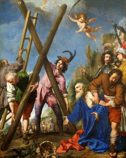 St Andrew Praying before his Martyrdom by Carlo Dolci.