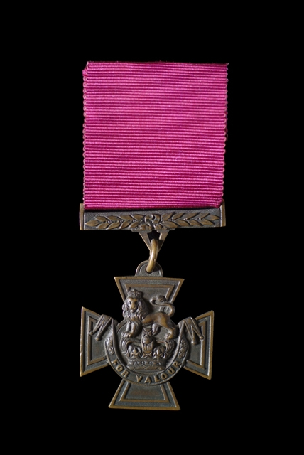 Victoria Cross Gallantry Medal awarded to Lance Corporal Charles Alfred Jarvis.