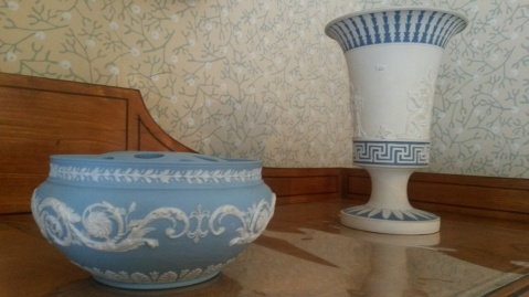 Some of the Wedgewood collection at Soho House