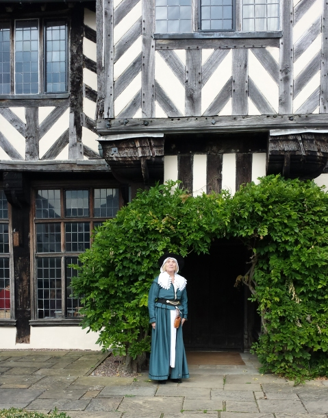 Dorothy Blackwell, volunteer at Blakesley Hall