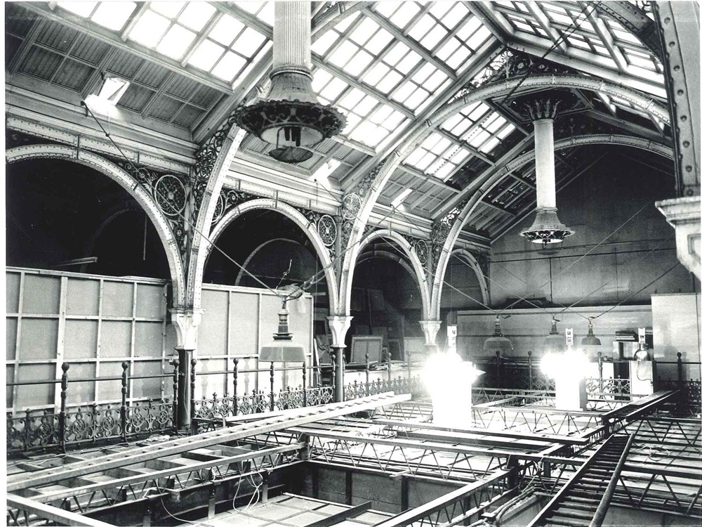 The Gas lights above the Industrial Gallery during the 1960s & BMAG   Birmingham Museums and Art Gallery azcodes.com