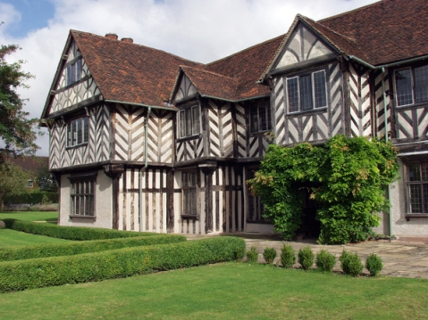 Blakesley Hall is the house which Richard Smalbroke built in 1590