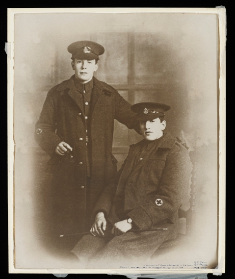 Harold and George, Christmas 1914