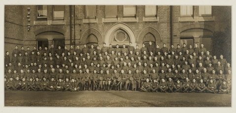 RAMC at Dudley Road Hospital