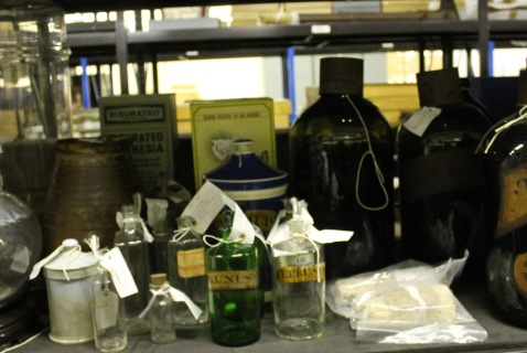 Display at the Museum Collections Centre