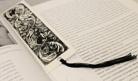 My own finished bookmark