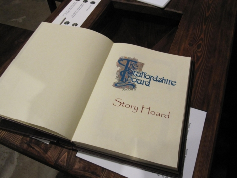 Story Hoard open