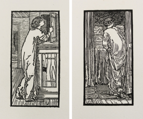 Psyche and Cupid by Edward Burne Jones