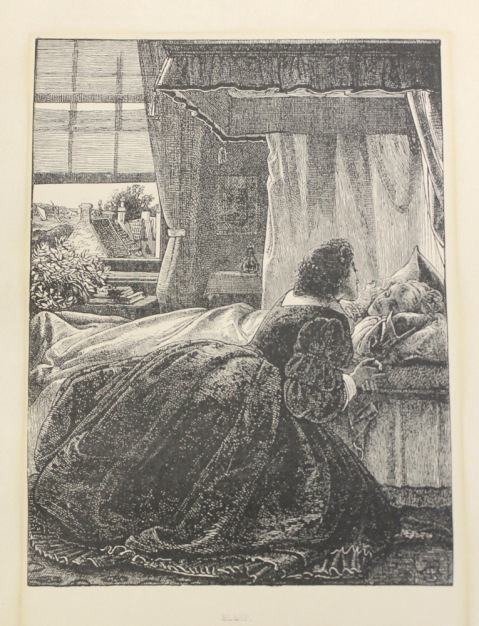 Sleep by Frederick Sandys