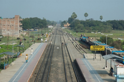 Sultanganj Railway Station, February 2014