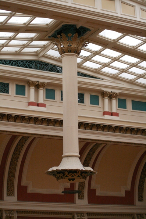 One of the Lamps above the Edwardian Tea Room