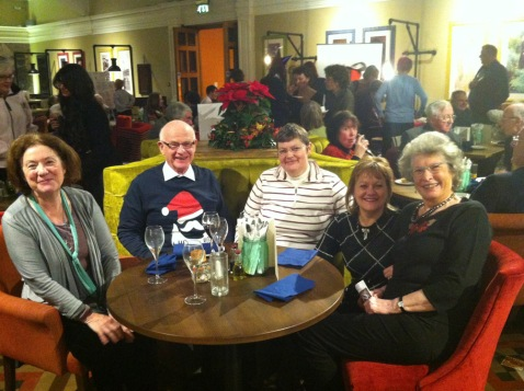 Eileen, David, Deborah, Yvonne and Margaret